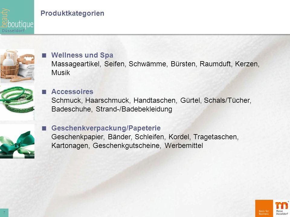 Produktkategorien Wellness und Spa Massageartikel, Seifen, Schwämme, Bürsten, Raumduft, Kerzen, Musik Accessoires Schmuck, Haarschmuck, Handtaschen, G
