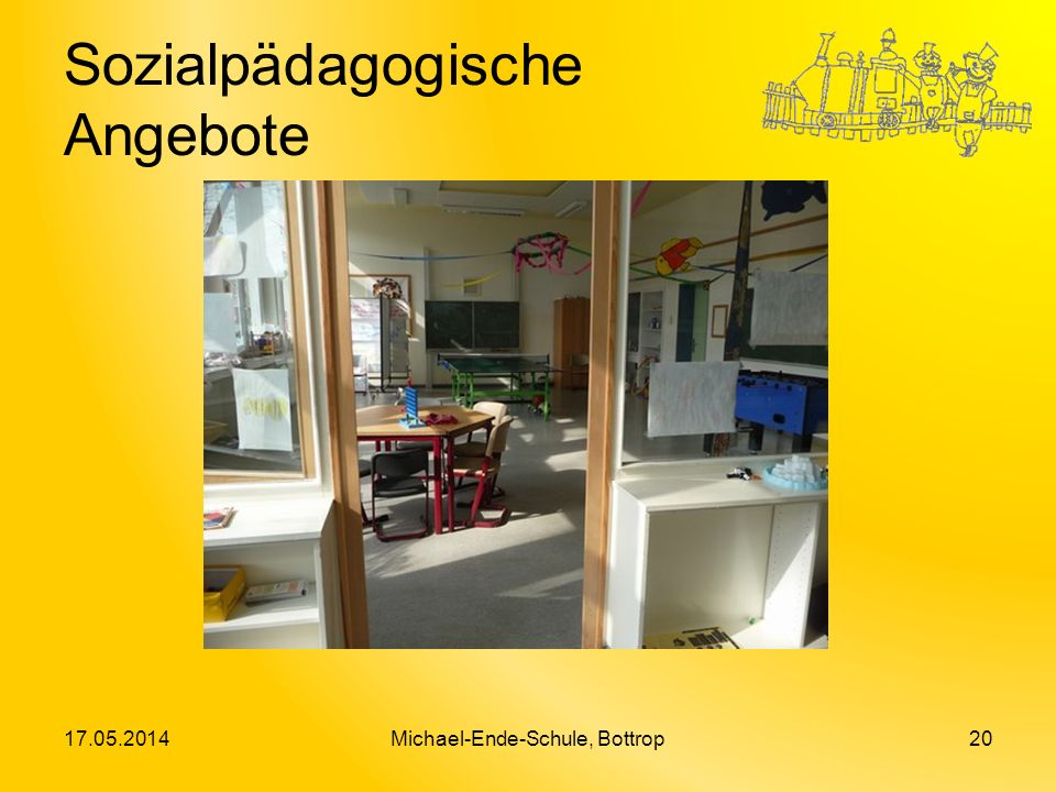 Sozialpädagogische Angebote 17.05.2014Michael-Ende-Schule, Bottrop20