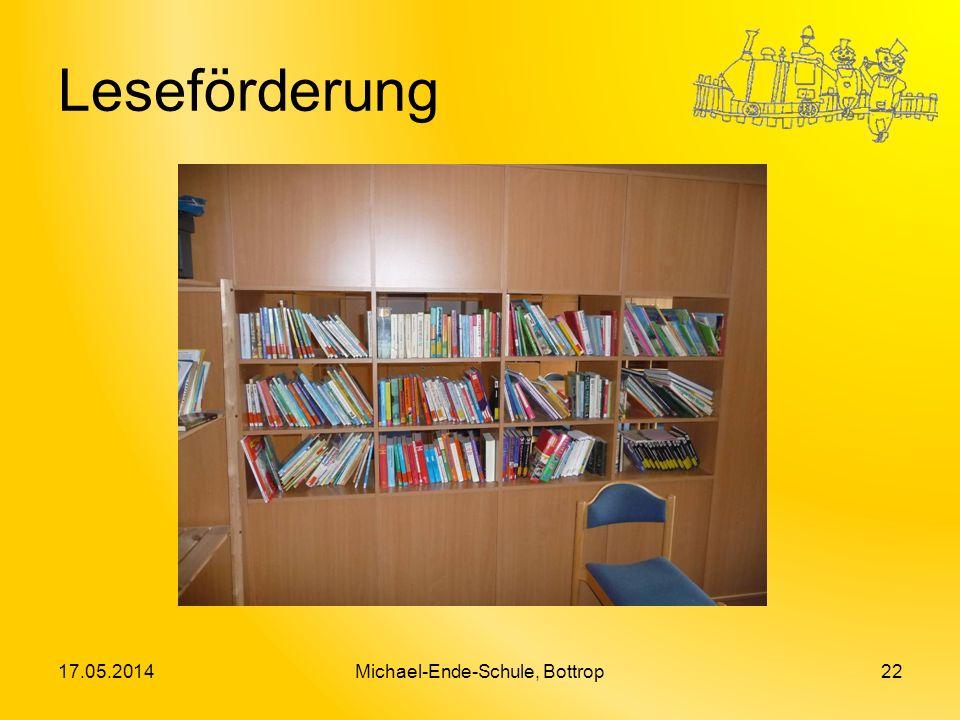 Leseförderung 17.05.2014Michael-Ende-Schule, Bottrop22