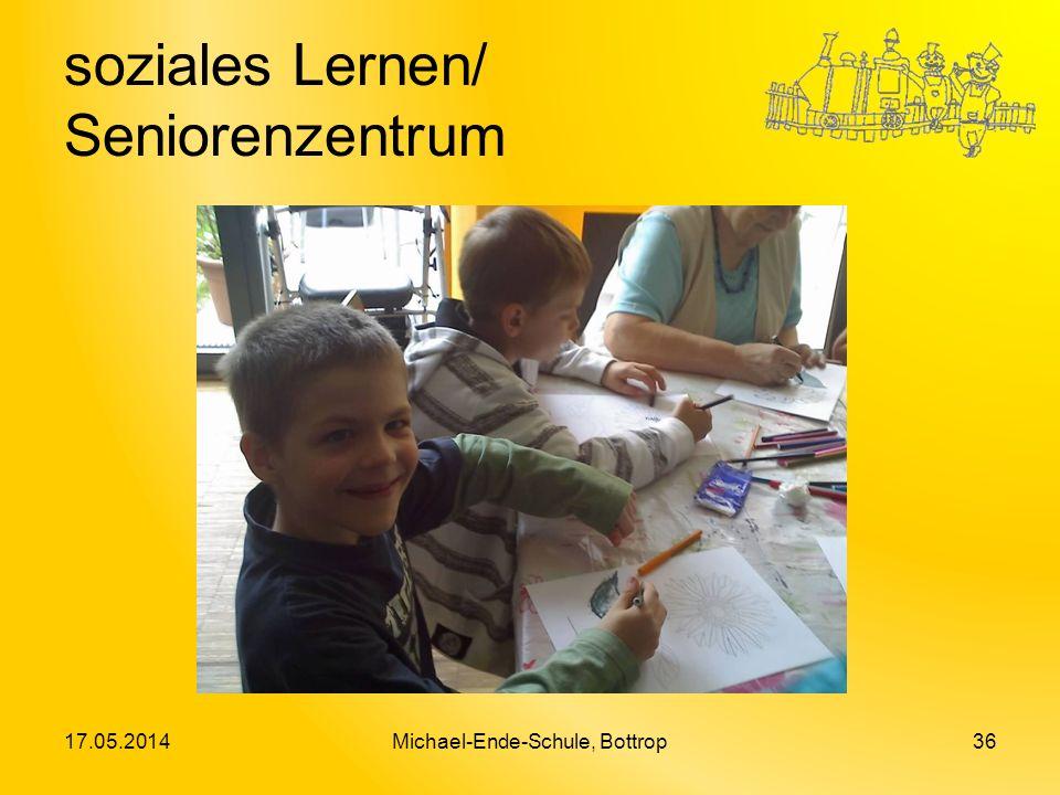 soziales Lernen/ Seniorenzentrum 17.05.2014Michael-Ende-Schule, Bottrop36