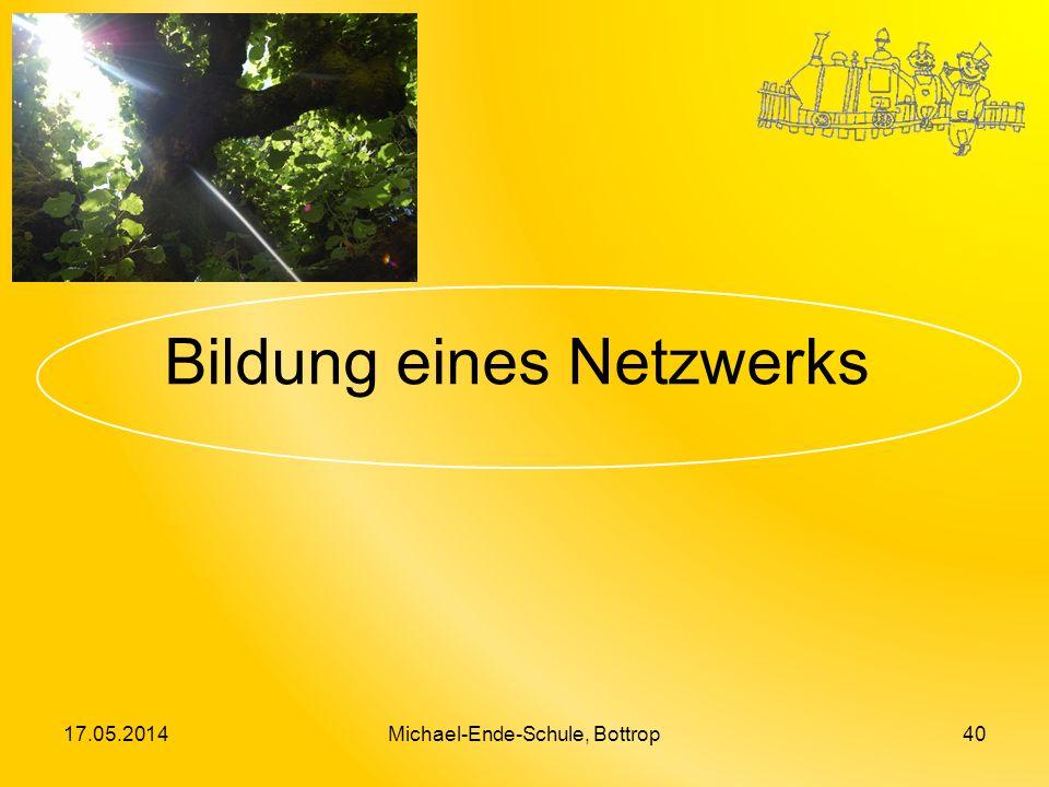 Bildung eines Netzwerks 17.05.2014Michael-Ende-Schule, Bottrop40
