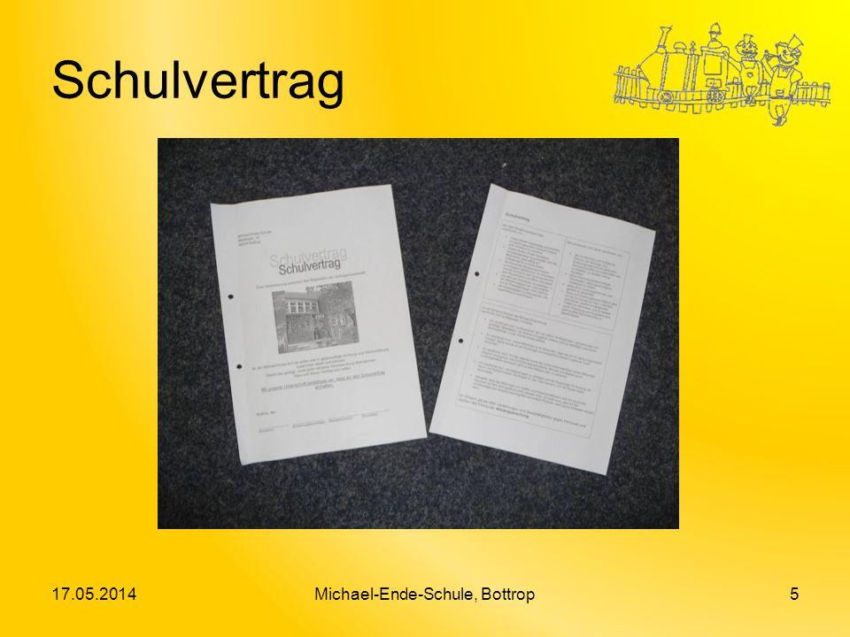 Schulvertrag 17.05.2014Michael-Ende-Schule, Bottrop5