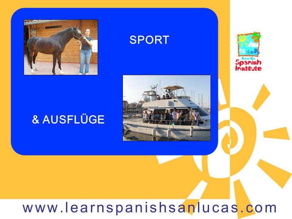 SPORT & AUSFLÜGE www.learnspanishsanlucas.com