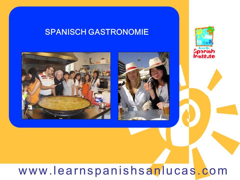 SPANISCH GASTRONOMIE www.learnspanishsanlucas.com