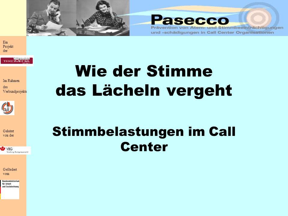 1.Welche Bedeutung hat die Stimme für den Telefonisten.