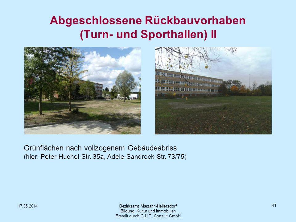 Bezirksamt Marzahn-Hellersdorf Bildung, Kultur und Immobilien Erstellt durch G.U.T. Consult GmbH 17.05.2014Bezirksamt Marzahn-Hellersdorf Bildung, Kul
