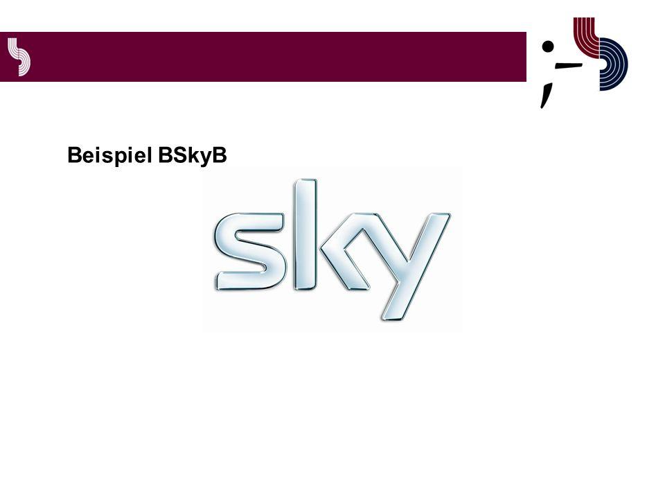 Beispiel BSkyB