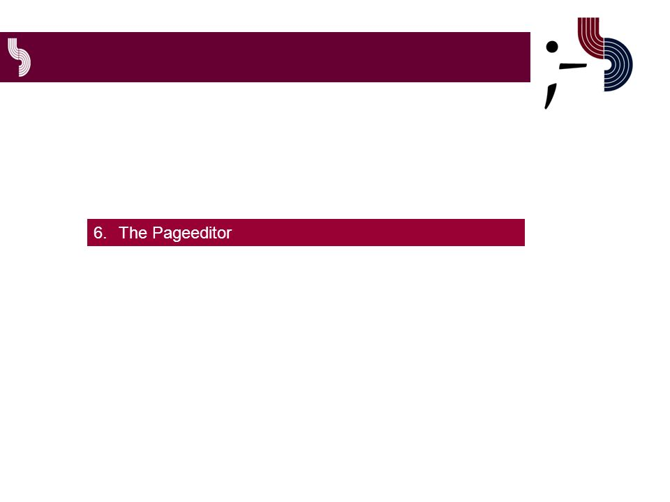 6.The Pageeditor