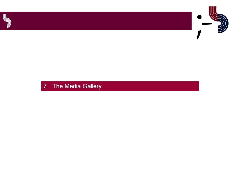 7.The Media Gallery