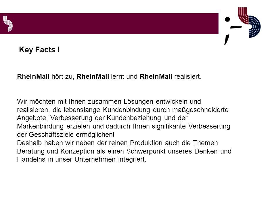RheinMail hört zu, RheinMail lernt und RheinMail realisiert.