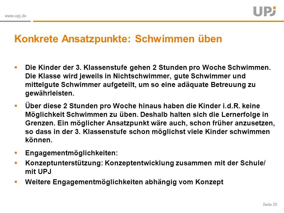Amt für Soziale Arbeit Seite 25 www.upj.de Die Kinder der 3.