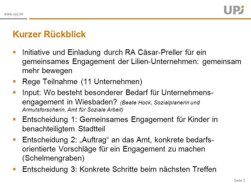 Amt für Soziale Arbeit Seite 24 www.upj.de Die meisten Kinder der Grundschule im Schelmengraben sind in ihrer Mobilität eingeschränkt.