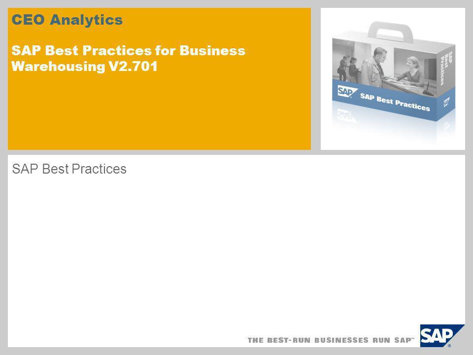 Szenarioüberblick – CEO Analytics Einsatzmöglichkeiten Das Dashboard Kennzahlenübersicht bietet einen Überblick über die Ist-, Soll- und Trendwerte ausgewählter strategischer und betrieblicher Kennzahlen.