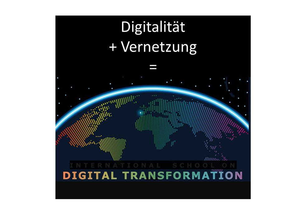 Digitalität + Vernetzung =