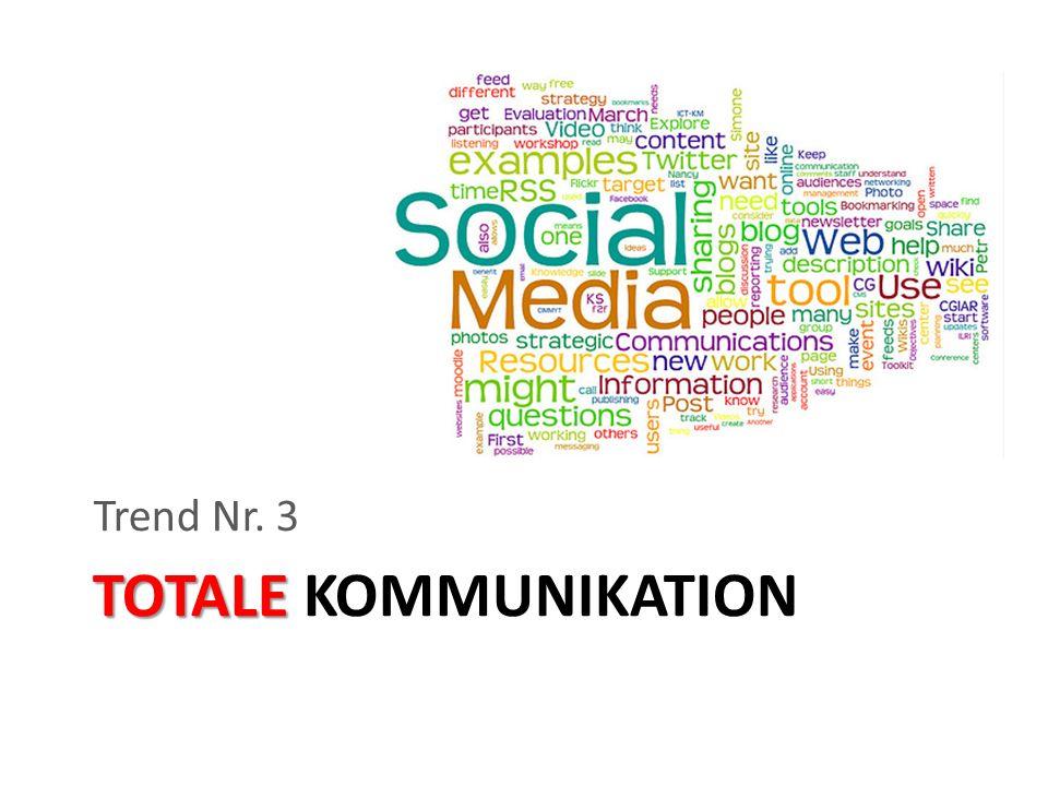 TOTALE TOTALE KOMMUNIKATION Trend Nr. 3