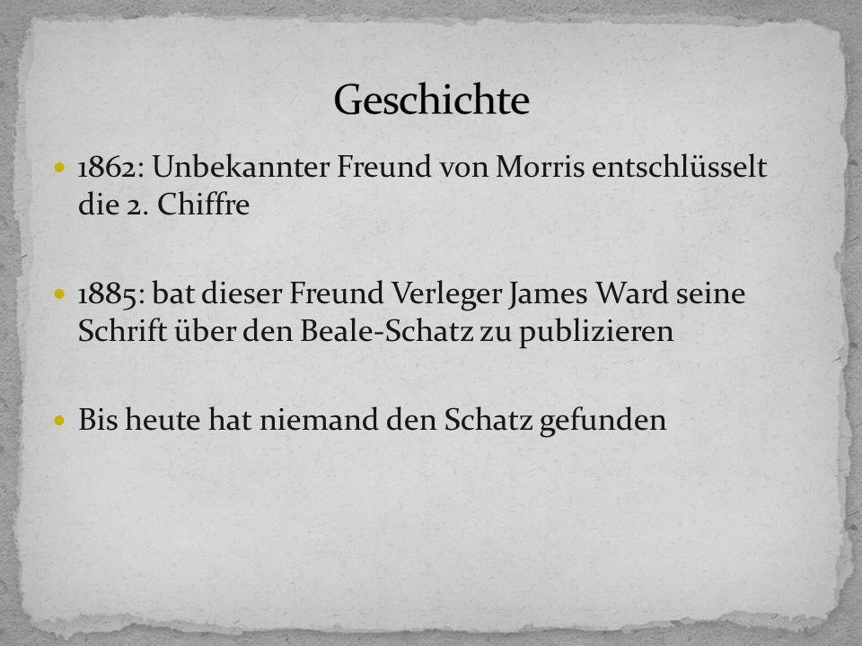 1862: Unbekannter Freund von Morris entschlüsselt die 2.