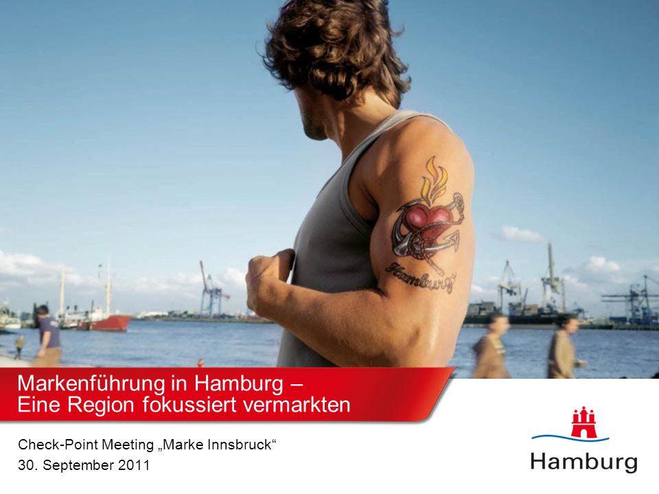 Hamburg Marketing GmbH Konzept Markenaufbau Zentrales Ziel: Put Hamburg on the Map Erhöhung der nationalen und internationalen Bekanntheit und Förderung der Wahrnehmung der Standort- attraktivität Hamburgs.