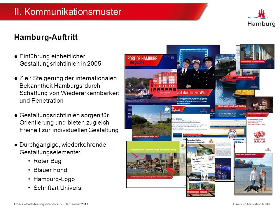 Hamburg Marketing GmbH Marke Innsbruck Check-Point Meeting Innsbruck, 30.