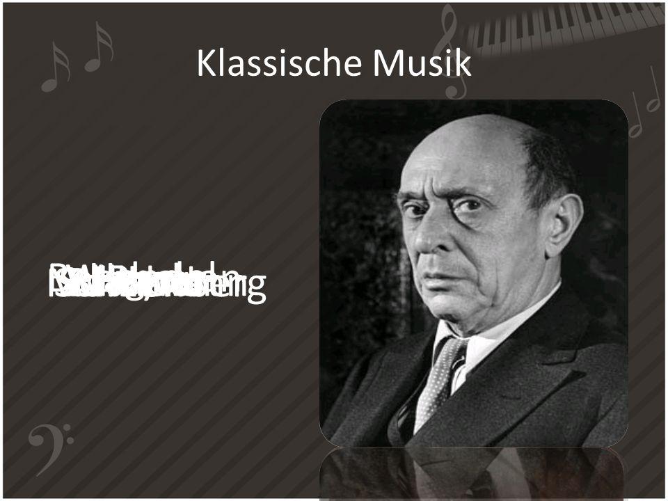 Klassische Musik Bach Handel Haydn Beethoven SchubertSchumann Brahms Wagner MahlerSchoenberg