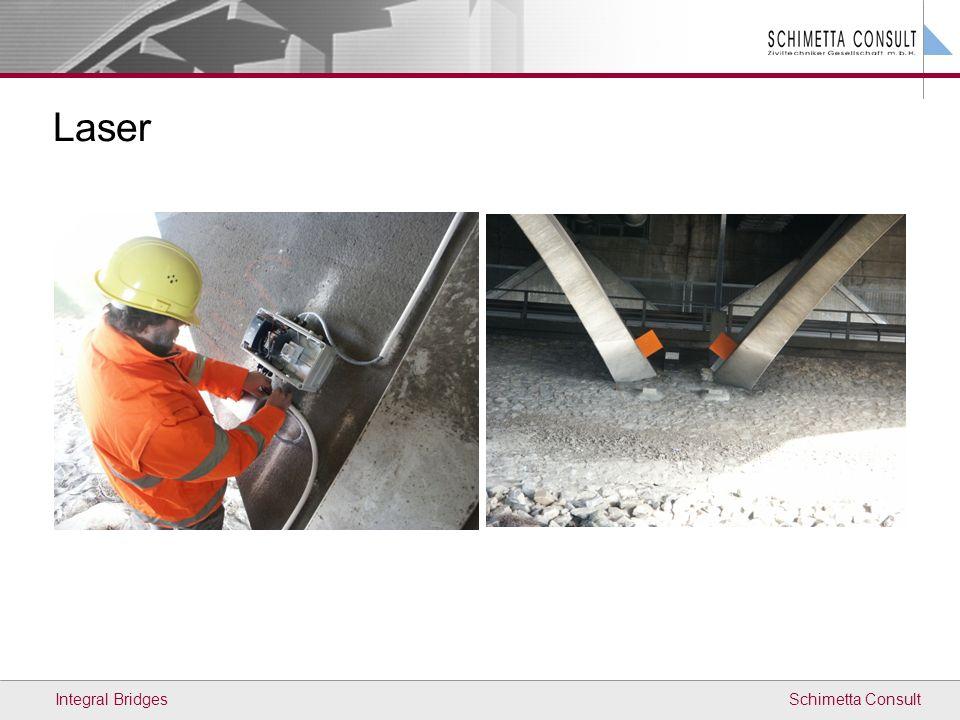 Schimetta Consult Laser Integral Bridges