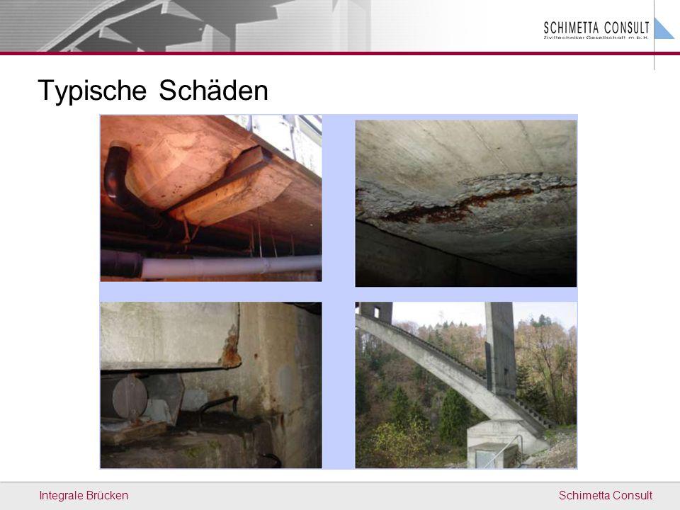 Schimetta ConsultIntegrale Brücken Typische Schäden