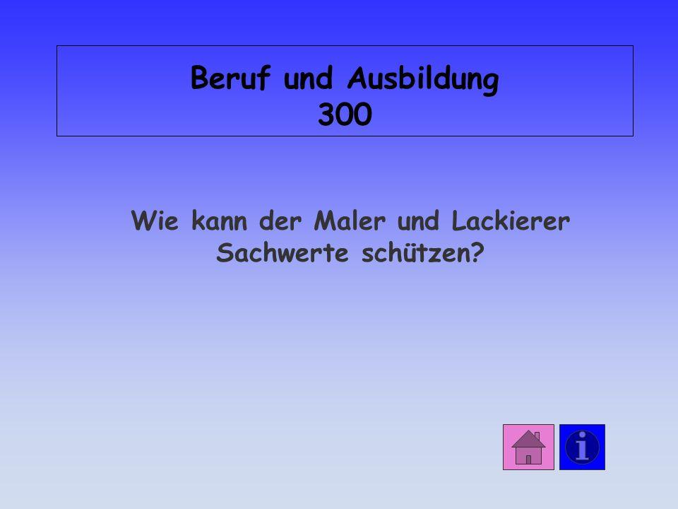 Antwort: Beruf und Ausbildung 200 die Computertechnik