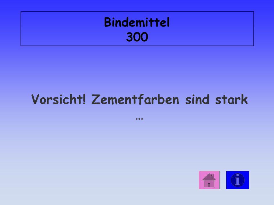 Antwort: Bindemittel 200 die Pigment-Volumen-Konzentration