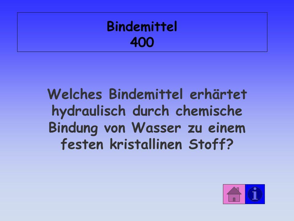 Antwort: Bindemittel 300 ätzend!