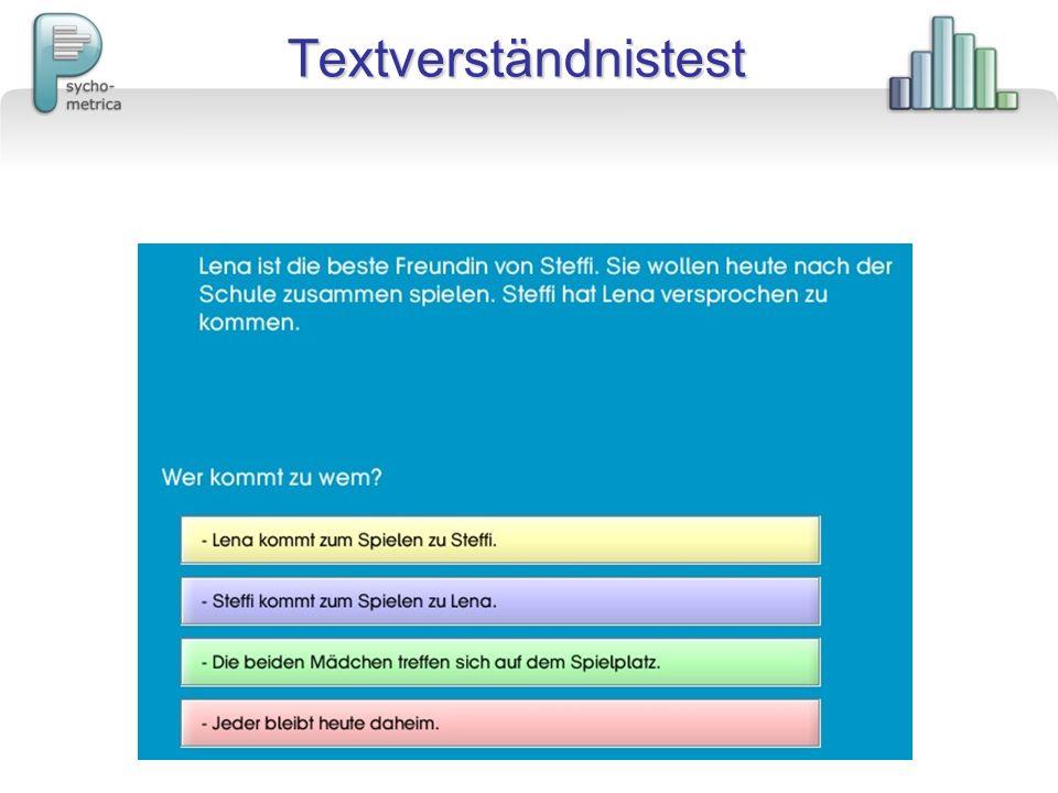 Textverständnistest