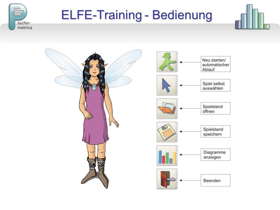 ELFE-Training - Bedienung