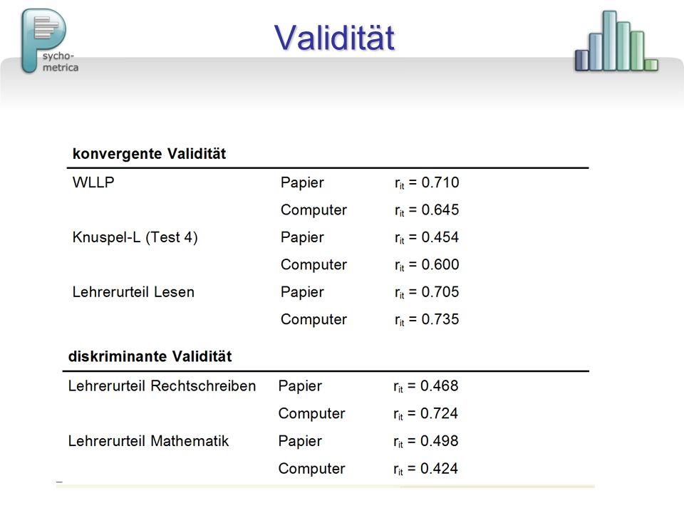 PC-VERSION Diagnostik mittels ELFE 1-6