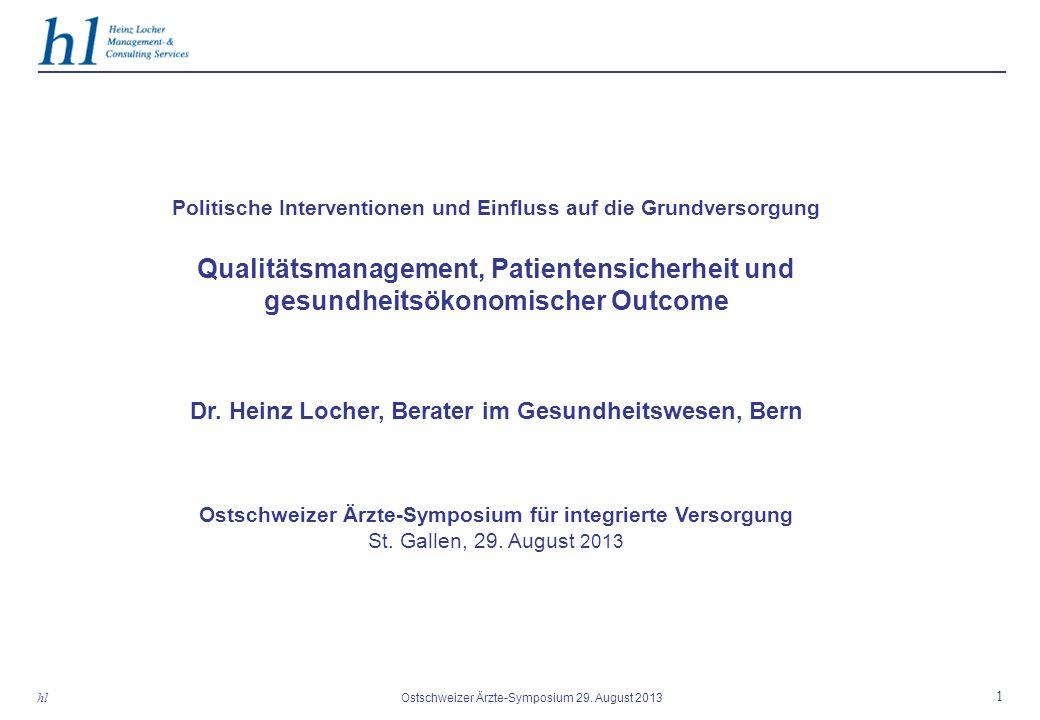1 Ostschweizer Ärzte-Symposium 29.