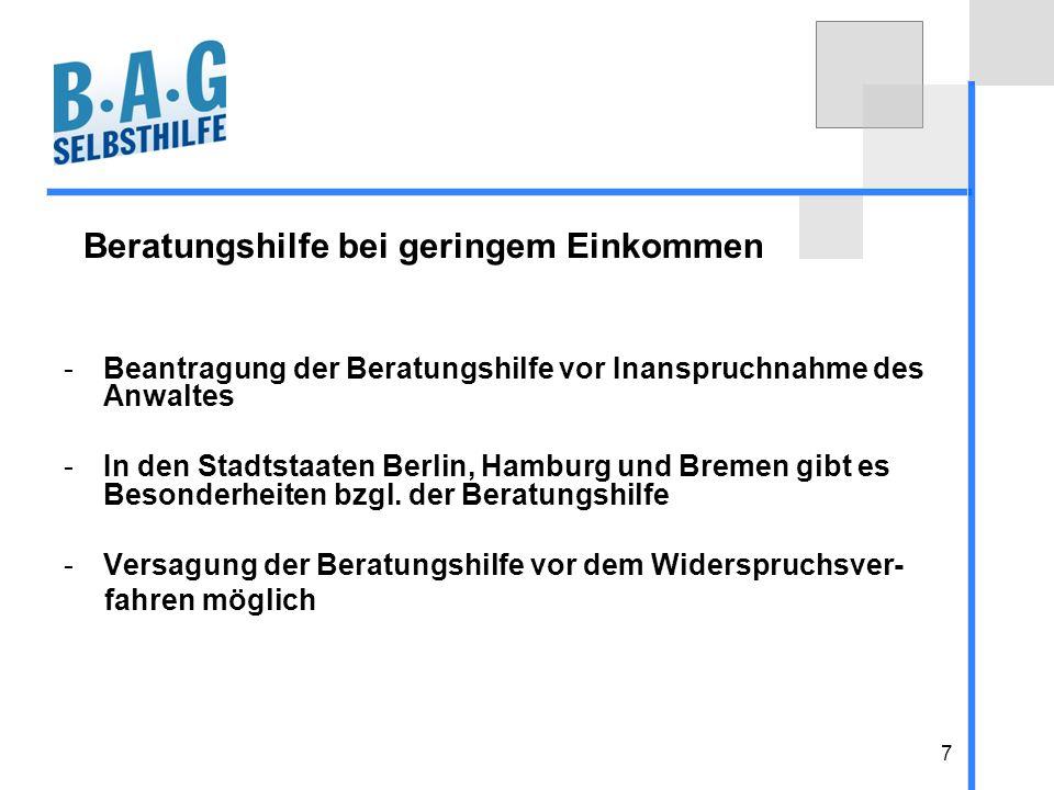 18 Austausch- und Informationsplattform http:// hilfsmittel.bag-selbsthilfe.de