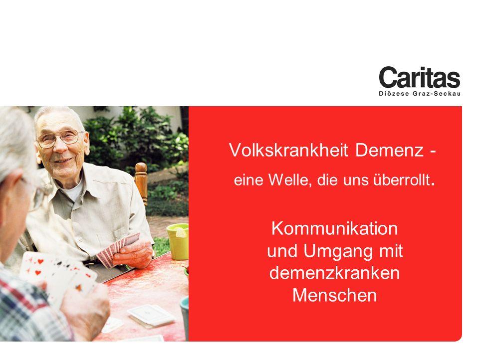 z.B.Morbus Alzheimer Das schleichende Vergessen .