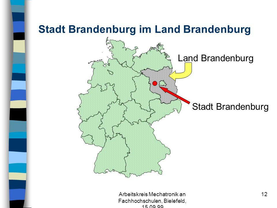 Arbeitskreis Mechatronik an Fachhochschulen, Bielefeld, 15.09.99 11 Contents n Was ist Mechatronik .