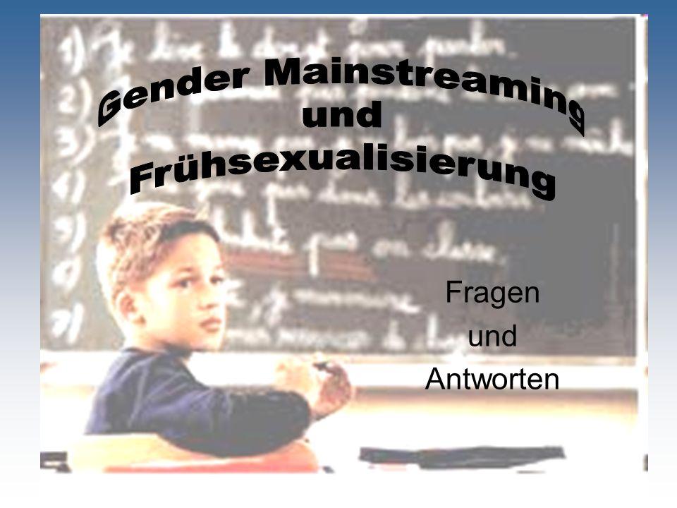 Was ist Gender Mainstreaming.