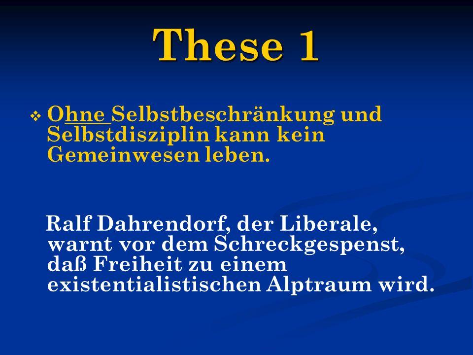 These 12 Der Rechtsstaat, also Gewaltenteilung, Pluralismus, the rule of law, das sind nur die Voraussetzungen und der Rahmen für eine zivile Gesellschaft.