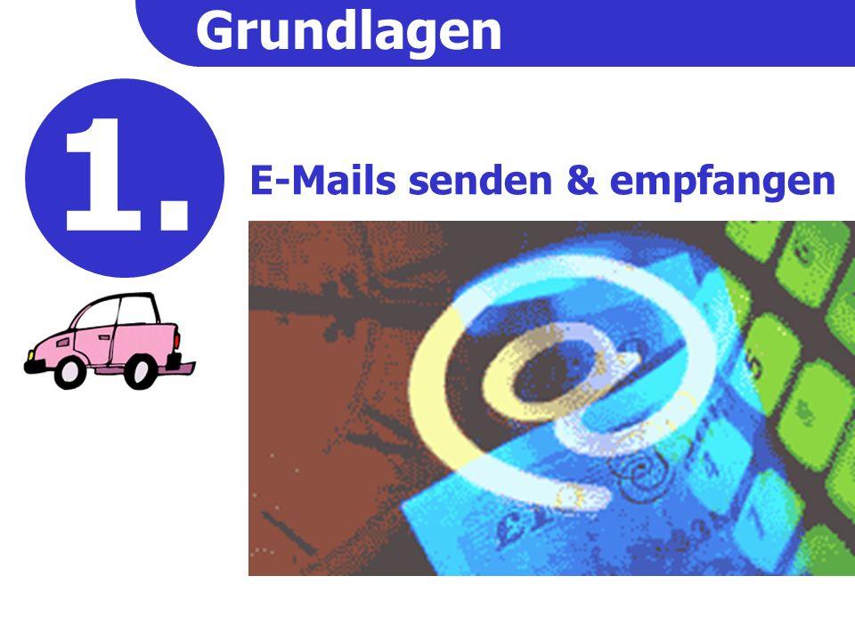 Grundlagen E-Mails senden & empfangen 2. 1.