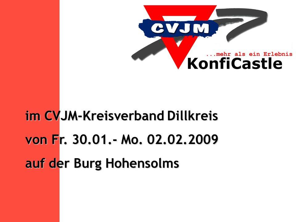 KonfiCastle ist eine Idee mit Tradition Schon seit Jahren haben die CVJM- Landesverbände von Bayern, Württemberg (ejw), Sachsen-Anhalt und Thüringen viele positive Erfahrungen mit der Arbeitsform des KonfiCastle gesammelt.