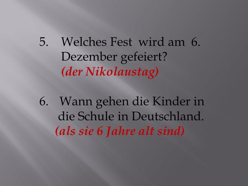 11.Wann feiert man das Erntedankfest in Deutschland.