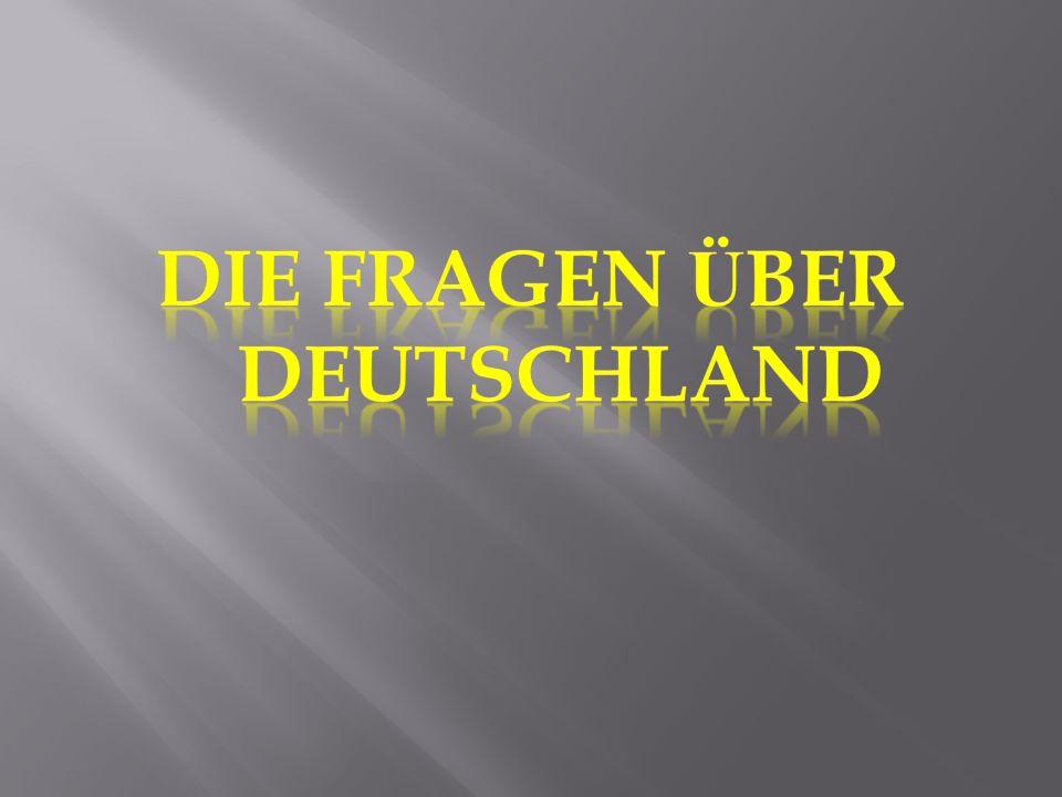 1.Welches Getrank ist das beliebteste unter den Deutschen.