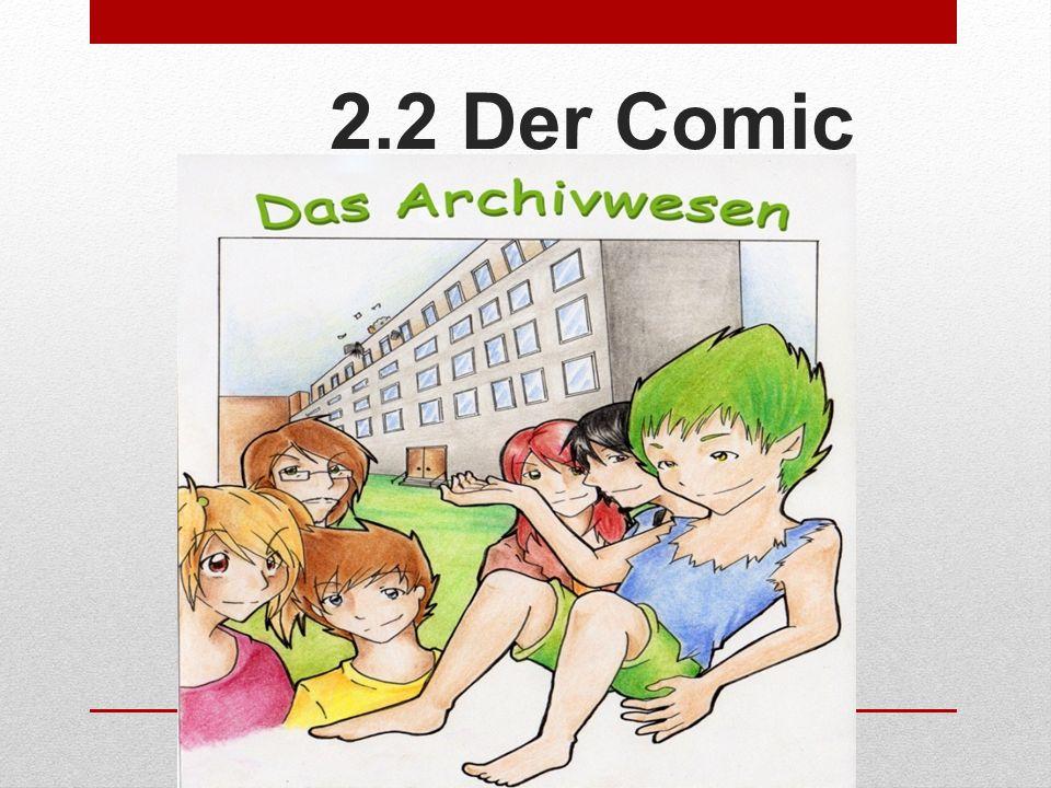 2.2 Der Comic