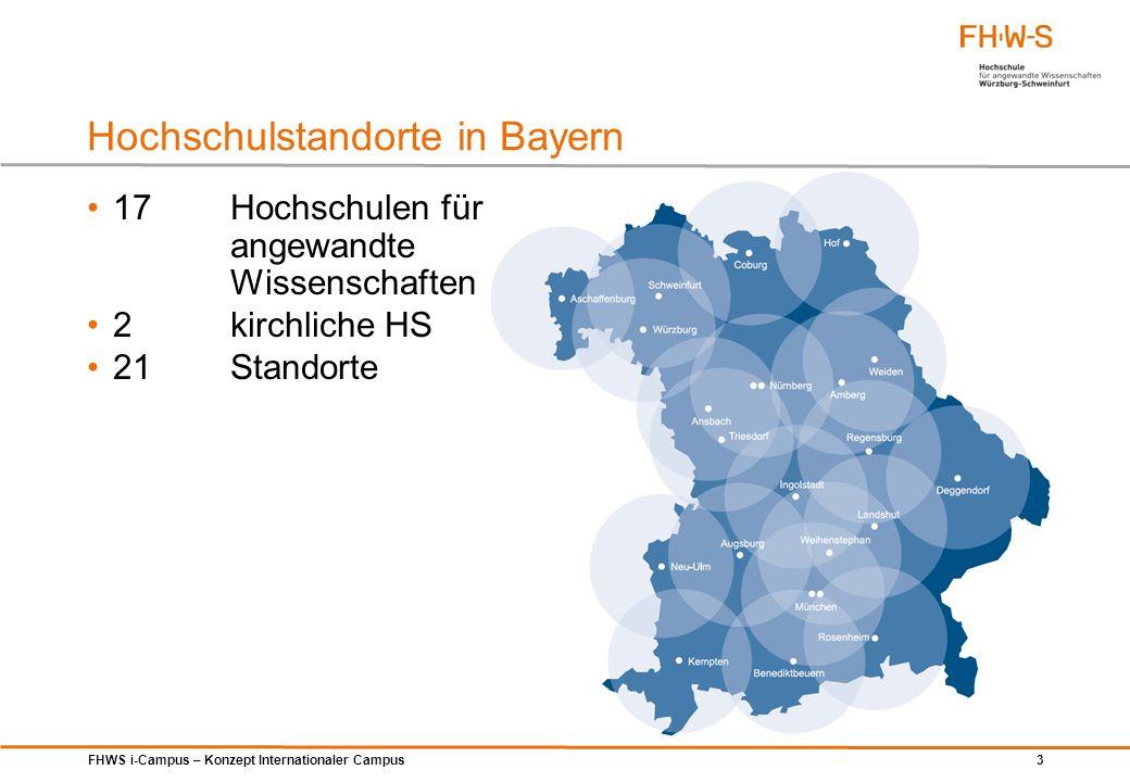 FHWS i-Campus – Konzept Internationaler Campus 44 Konzeptanalyse – Fakten der Stadt Schweinfurt Quelle: Bayerisches Landesamt für Statistik und Datenverarbeitung, Statistik kommunal 2012, Stand: April 2013