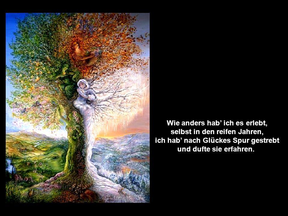 Es ist das Glück ein flüchtig Ding, so hört ich Dichter klagen, und: Ritt man um der Erde Ring, es wär nicht zu erjagen.