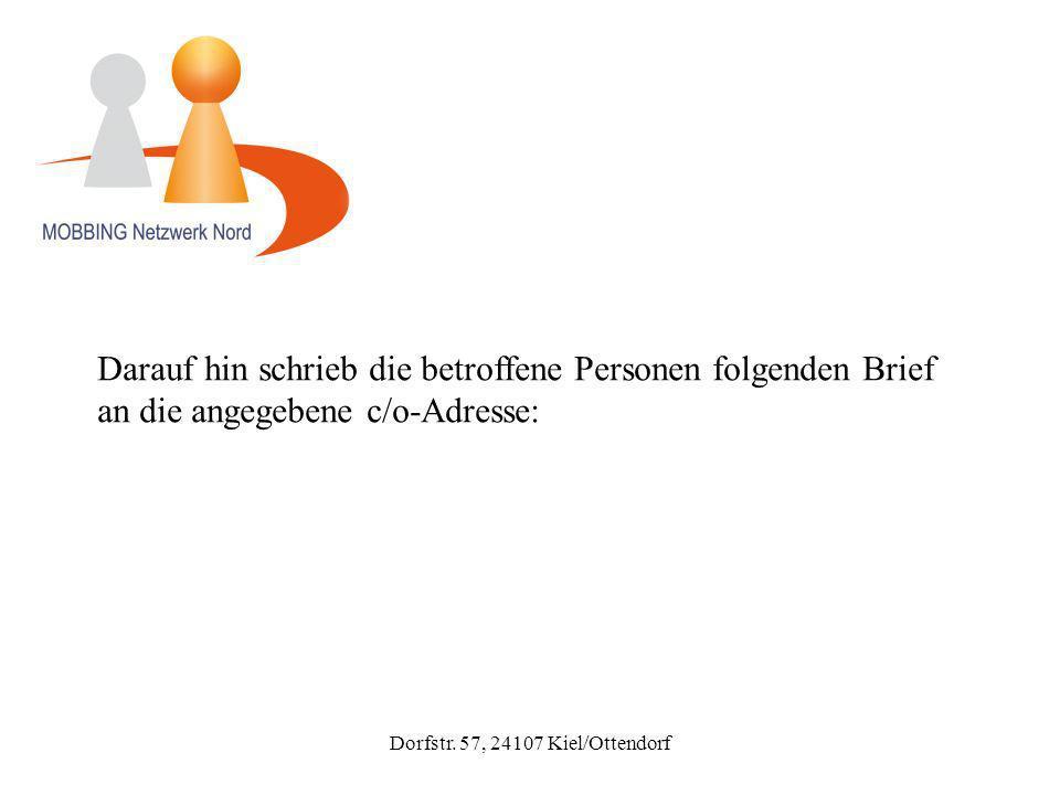 Dorfstr.57, 24107 Kiel/Ottendorf VAgS c/o Deutsche Stalking-Opferhilfe e.V.