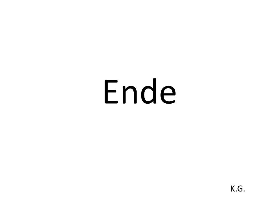 Ende K.G.