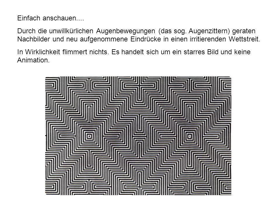 Auf den nächsten 5 Seiten sehen Sie den so genannten Here comes the Sun Effekt.