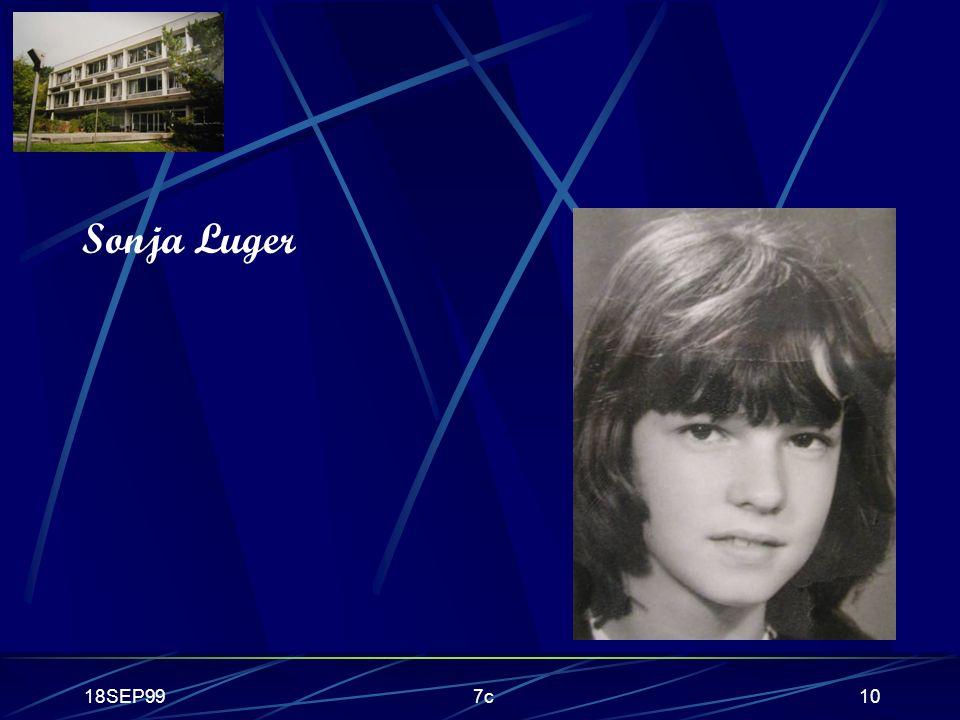 18SEP997c10 Sonja Luger