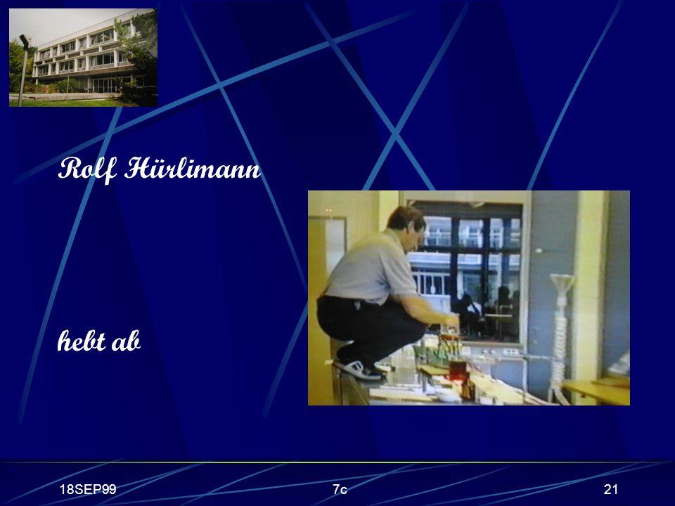 18SEP997c21 Rolf Hürlimann hebt ab