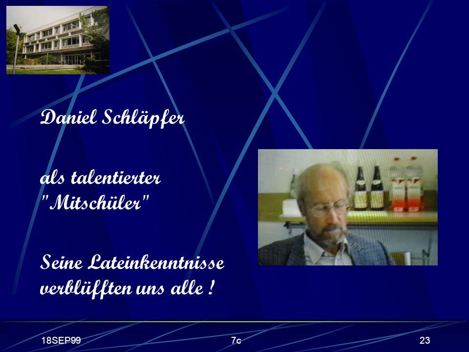 18SEP997c23 Daniel Schläpfer als talentierter
